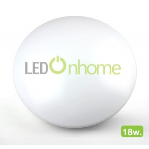 LED Dome Panel Plain 18w. | PANEL DOME Nonborder 18w
