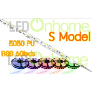 LED RIBBON S Model 5050 NON WATERPROOF RGB PU
