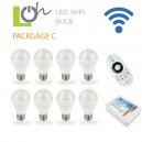 หลอดไฟ LED wifi Bulb 2.4G 6w PACK C