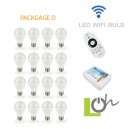 หลอดไฟ LED wifi Bulb 2.4G 6w PACK D