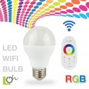 หลอดไฟ LED wifi Bulb 2.4G 6w RGB