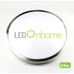 LED Dome Panel Aluminium 24w.