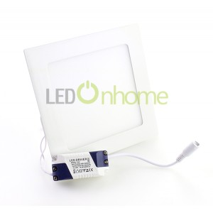 LED Slim PANEL Square Shape 18w
