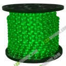 LED Rope Light 36 leds แบบกลม 2 wires Green