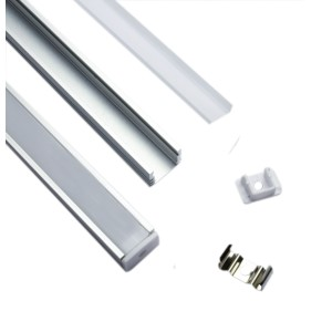 Aluminium Bar U Shape 1M