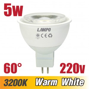 LED MR16 420lm 220-240v 60Deg 5.5w