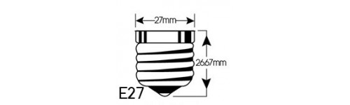 MR16 Bulb E27 Socket